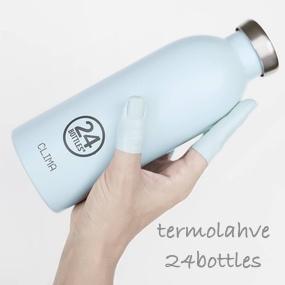 Pijte vodu ve velkém stylu s italskými lahvemi od 24bottles